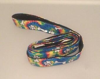 Tie Dye Dog Leash