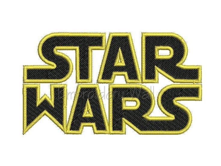 Embroidery design star wars instant