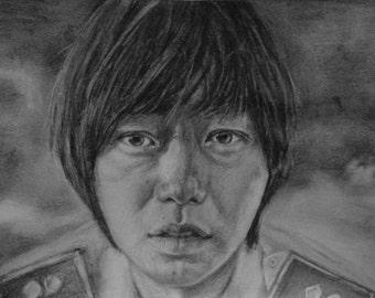 Original Doona Bae Drawing A5