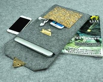 Galaxy Tab S2, Custom Tablet Cover, Galaxy Sleeve, Galaxy Tablet Sleeve, Personalized Case, Felt Galaxy Case, Galaxy Tab s Sleeve, H1E14