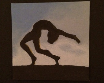 Dance Silhouette Painting