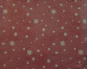 "28"" Disney/Thomas Kincaid Stars Pink Fabric 328"