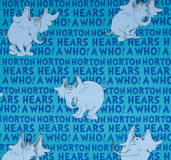 NEW Dr Seuss Horton Hears A Who Medical By DDSewHappyScrubs