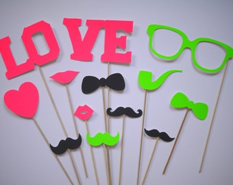"Fotoprops ""NEON"" wedding, photo box, photo booth"