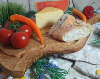 Olive wood carving Board / cutting board 50 cm with a juice Groove communications