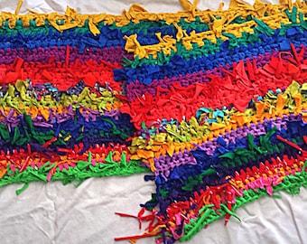 Crocheted Multi-Color Runner