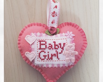 Baby boy/girl hanging keepsakes