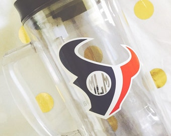 Personalized Houston Texans Decal