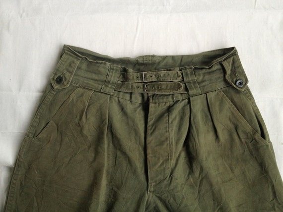 Vintage Rare 40s 60s British Army Gurkha Pants Trousers