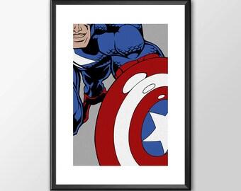 Captain America - Classic Superhero - Buy 2 Get 1 Free
