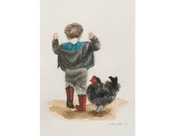 Boy and Chicken - Unlimited