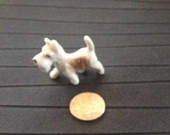 Vintage Terrier or Scottie Dog Figurine