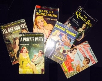 Vintage PULP Fiction - 1940's & 1950's