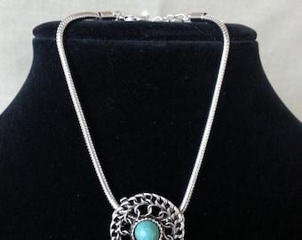 Silver Medallion Bracelet