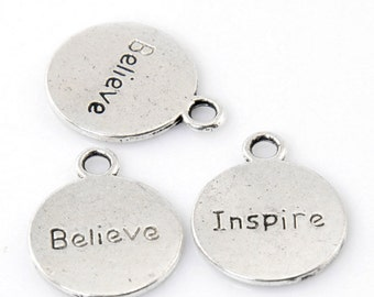 Believe/Inspire Charms
