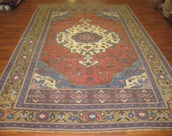 Decorative antique Turkish rug-4233
