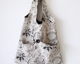 "Canvas Tote Bag ""Elegance"""