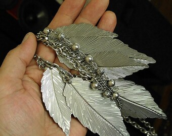 Vintage Leaves Necklace Pendant (Free Shipping)
