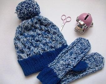 set of hat and mittens (набор из шапки и варежек)