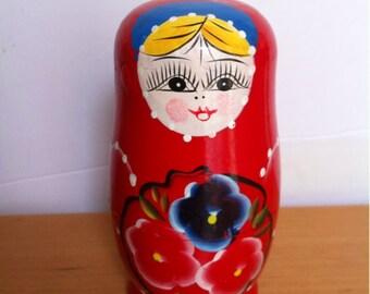 Wooden Russian Matryoshka Doll