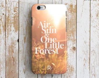 NATURE iPhone 6 Case. Photography iPhone 6 Case. Typography iPhone 6 Case. Forest iPhone Case. Sunset iPhone 6 Plus Case. Nature iPhone Case