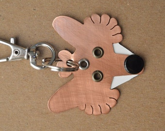 Fox Pet Tag Dog ID Metal