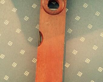 Level, vintage wooden tool