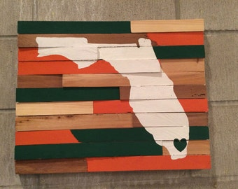 College Wall Hanging - University of Miami