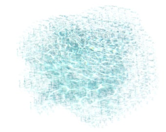 Blue Green Abstract,Shimmering Water, Digital Art Print, Wall Art, Notecards, Greeting Cards, Printable Cards, Downloadable Cards, Wall Art