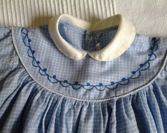 summer dress vintage baby 1 year to 18 months