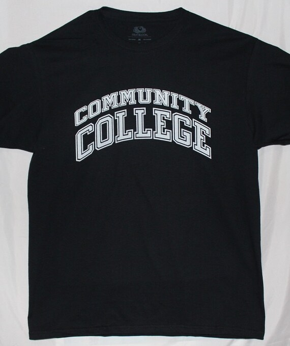 Community College T Shirt By Atlanticshoretees On Etsy