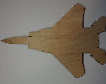 F-15 jet Silhouette Cutout