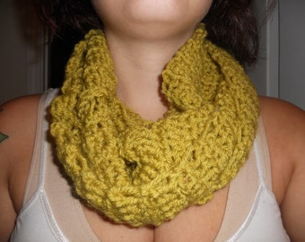 Chartreuse Infinity Scarf