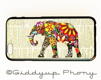 iPhone 5 Case Cover Elephant iPhone 5 Hard Case Newspaper Back Cover For iPhone 5s Elephant Slim Design Case
