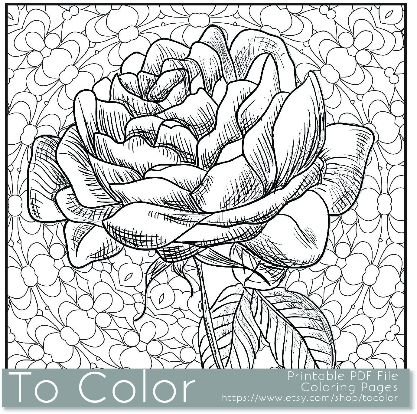 Coloring book pages pdf - Printable Coloring Pages Grown Ups Unique Flower Coloring Book Related Items Byrds Words Coloring Books