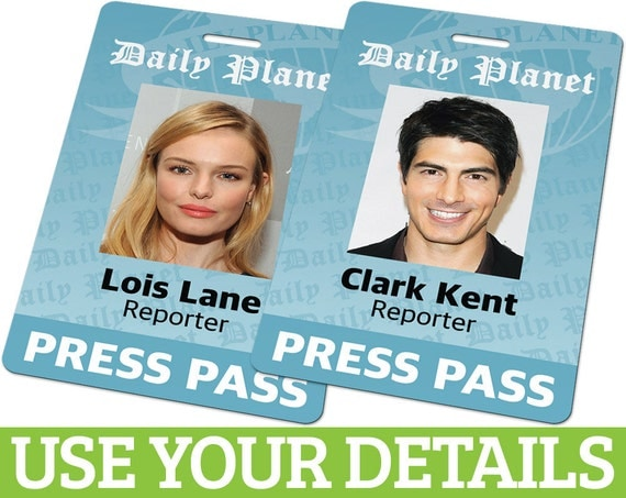 Luscious image pertaining to lois lane press pass printable
