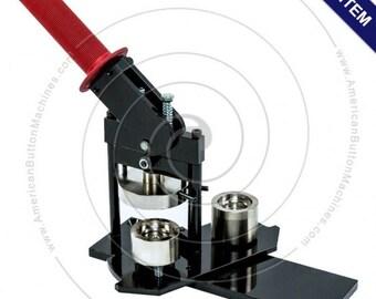"Tecre Button Making Kit 1"" - Button Machine, Graphic Paper Punch, 1000 Complete Pinback Button Sets"