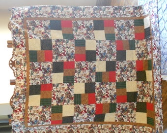 Puppy Christmas Quilt