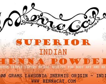 Superior Rajasthani Henna Powder (100g)