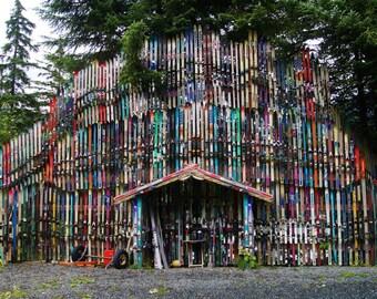 Alaska ski fence