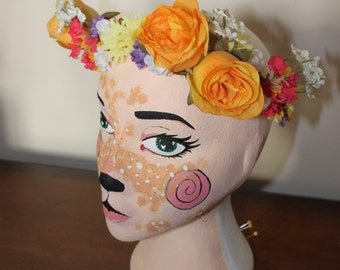 Summer Rose Crown