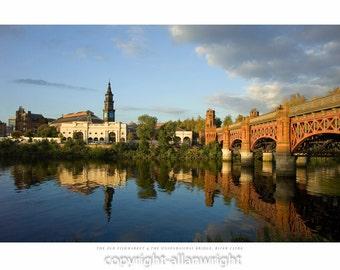 Old Fishmarket & The Union Railway Bridge, Glasgow