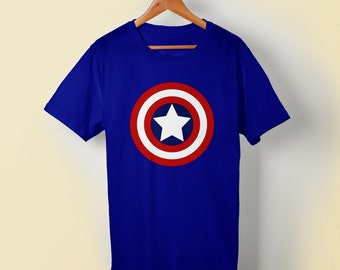 Captain America Tshirt for Men, Women and Kids