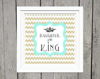 Daughter of the King 8 x 8 print