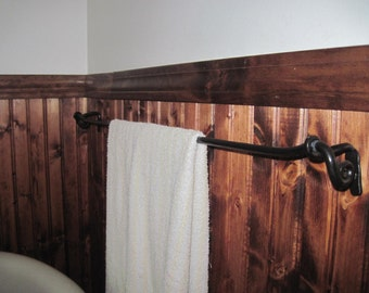 Hand Forged Towel Rack