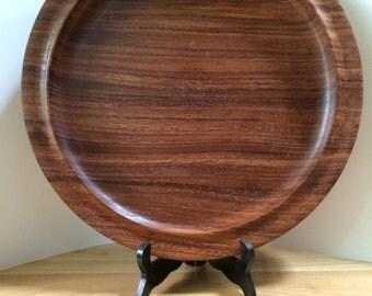 Mahogany platter LARGE