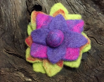 Hand Felted Pin