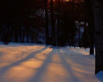 Wintertime Sunset
