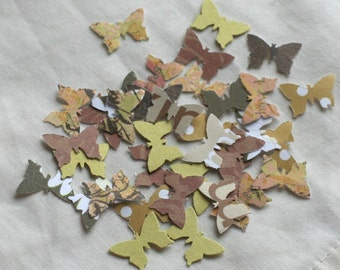 1000 Butterfly wedding confetti table scrapbook paper party shapes mix