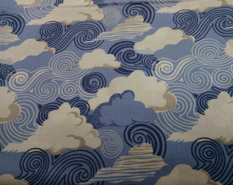 Sunny Side cloud Fabric by the Yard-Moda Fabrics
